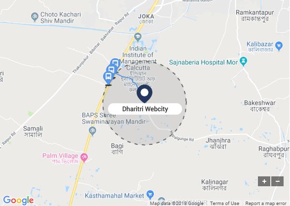 dharitri webcity kolkata location