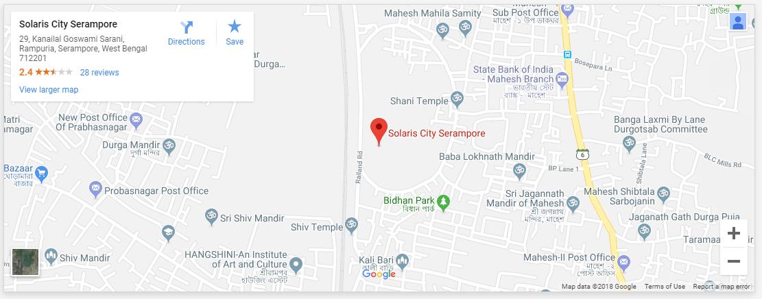 Solaris City Serampore